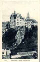 Postcard Sigmaringen an der Donau Baden Württemberg, Schloss vom Mühlberg