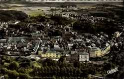 Postcard Weilburg im Lahntal, Panoramablick auf den Ort und die Umgebung