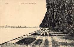 Postcard Kehl am Rhein Ortenaukreis Baden Württemberg, Partie an der Rhein Anlage