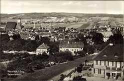 Ansichtskarte / Postkarte Neustadt an der Orla, Gesamtansicht mit Kirchturm