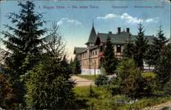 Postcard Hohe Tatra Slowakei, Tatraszeplak, Weszterheim, A Magas Tatra