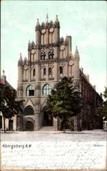 Ak Chojna Königsberg Neumark Ostbrandenburg, Ansicht vom Rathaus