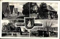 Wappen Ak Drochtersen, Am Steige, Kirche, Mühlenhafen, Grauensiek, Außendeich