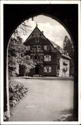 Postcard Allerheiligen Oppenau Hochschwarzwald, Schwarzwaldhaus, Kurhaus