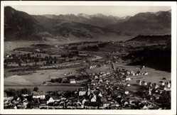 Postcard Immenstadt im Allgäu Schwaben, Fliegeraufnahme von der Stadt