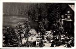 Postcard Seebach badischer Schwarzwald, Blick auf den Mummelsee, Karl Bürk