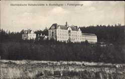 Postcard Bischofsgrün Fichtelgebirge Oberfranken, Oberfränkische Volksheilstätte