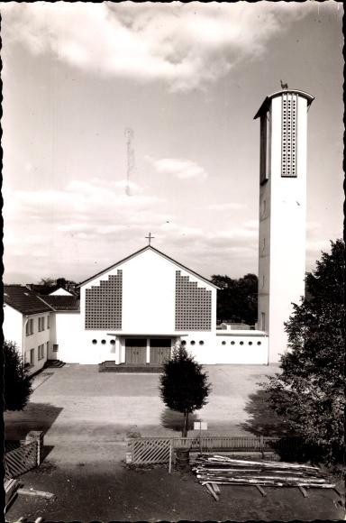 Lage im Werratal im Kreis Lippe, Neue katholische Kirche