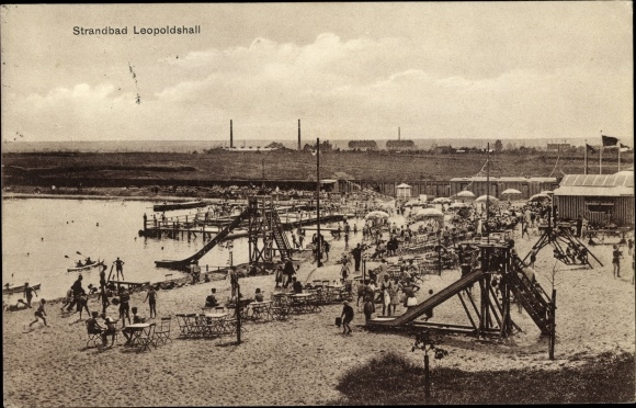 Staßfurt Schwimmbad ansichtskarte postkarte leopoldshall staßfurt sachsen akpool de