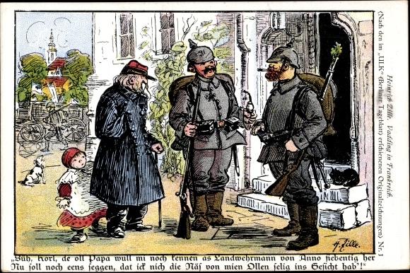 Künstler Ansichtskarte / Postkarte Zille, Heinrich, Süh, | akpool.de