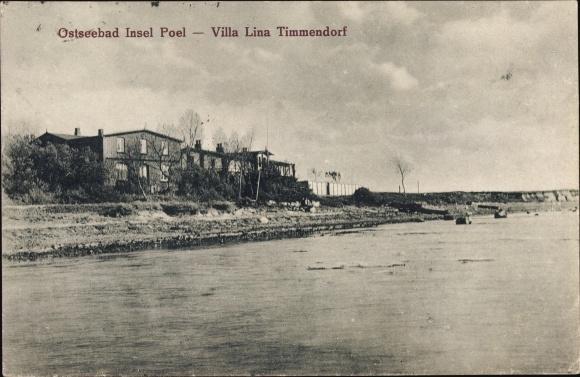 Karte Insel Poel Und Umgebung.Ansichtskarte Postkarte Insel Poel Mecklenburg Akpool De