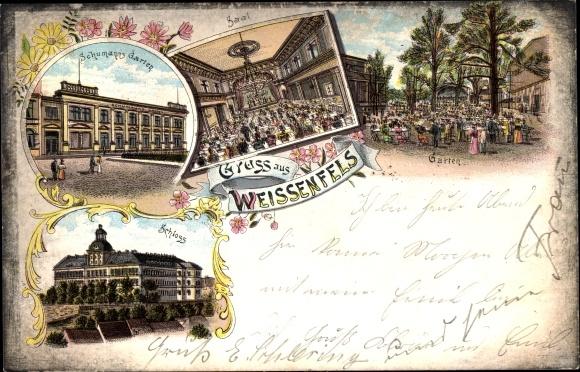 Litho Weißenfels In Sachsen Anhalt Schumanns Garten Akpoolde