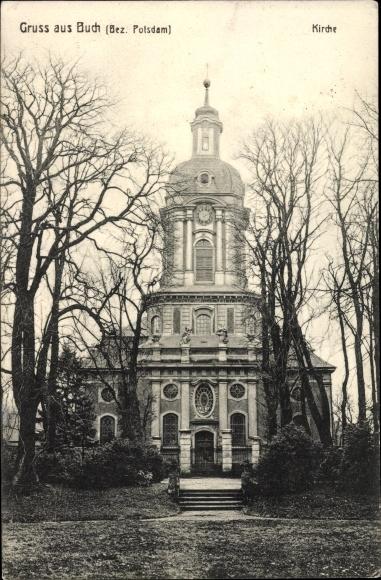 698425f53ed4b Postcard Berlin Pankow Buch