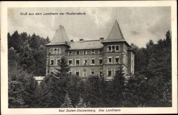 Ansichtskarte Postkarte Bad Soden Salmünster In Hessen Akpoolde