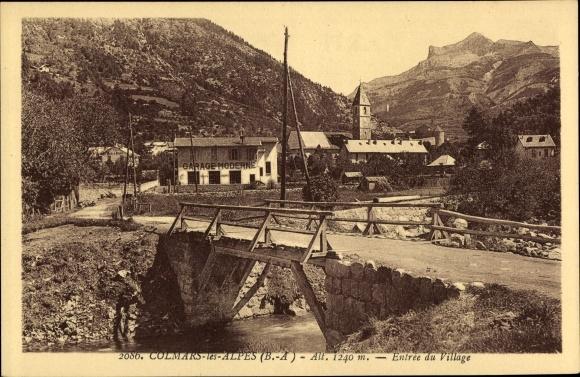 Ansichtskarte / Postkarte Colmars les Alpes Alpes de Haute ...