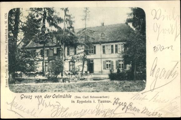 Ansichtskarte Postkarte Eppstein Im Taunus Hessen Akpoolde