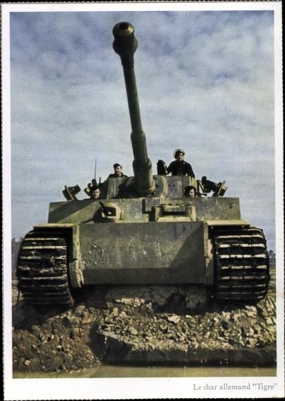 Ansichtskarte Postkarte Deutsche Wehrmacht Char Akpoolde