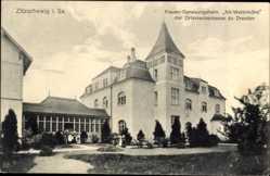 Ansichtskarte / Postkarte Zitzschewig Radebeul Sachsen, Frauen Genesungsheim Alt Wettinhöhe