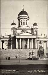 Foto Ak Helsinki Helsingfors Südfinnland, Nikolain Kirkko, Kirche, Denkmal