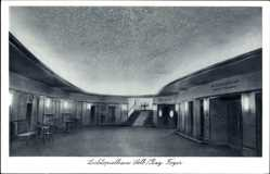 Postcard Selb Oberfranken, Lichtspielhaus, Ansicht des Foyers, Hans Vogel