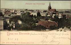 Postcard Eberswalde im Kreis Barnim, Blick vom Drachenkopf auf die Stadt