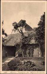 Ansichtskarte / Postkarte Meißen in Sachsen, Vorhof in der Superintendantur