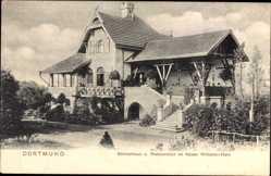 Postcard Dortmund im Ruhrgebiet, Gärtnerhaus, Restauration im Kaiser Wilhelm Haus