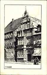 Künstler Ak Ubbelohde O., Hameln in Niedersachsen, Museum, Osterstraße
