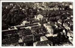 Postcard Bad Kissingen Unterfranken Bayern, Fliegeraufnahme von der Stadt