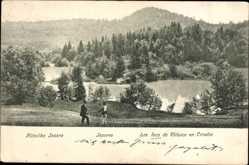 Postcard Kroatien, Plitvicka Jezera, Nationalpark, Seen, Wälder