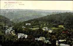 Postcard Bad Freienwalde an der Oder, Kurgebiet Brunnental, Waldlandschaft