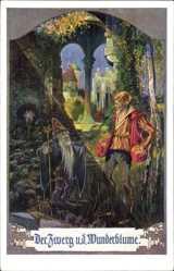 Künstler Ak Welz, A., Der Zwerg und die Wunderblume, Märchenkarte 215