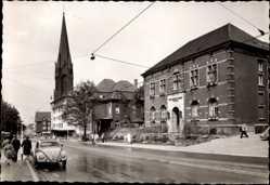 Foto Ak Osterfeld Oberhausen am Rhein, Bottroperstraße, Pankratiuskirche