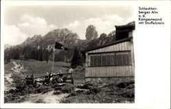 Postcard Bad Staffelstein am Main Oberfranken, Schlechtenberger Alm, Kampenwand