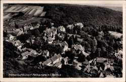 Postcard Königstein im Taunus Hessen, Fliegeraufnahme von der Stadt
