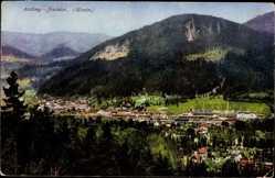 Postcard Assling Jesenice Slowenien, Totalansicht der Ortschaft, Purger 12828