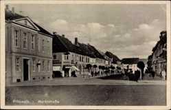 Postcard Pritzwalk in der Prignitz, Blick in die Marktstraße, Drogerie
