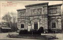 Postcard Bayreuth in Oberfranken, Ansicht vom Haus Wahnfried