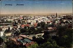 Ak Bydgoszcz Bromberg Westpreußen, Panorama der Stadt
