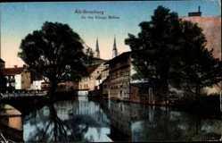 Ak Bydgoszcz Bromberg Westpreußen, An den königlichen Mühlen