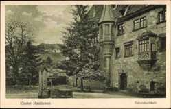 Postcard Maulbronn im Enzkreis Baden Württemberg, Kloster, Ephoratsgebäude, Brunnen
