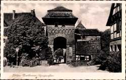 Postcard Maulbronn im Enzkreis Baden Württemberg, Kloster, Blick auf das Eingangstor