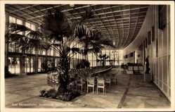 Postcard Bad Mergentheim in Tauberfranken, Neuerbaute heizbare Wandelhalle