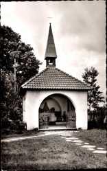Postcard Waltrup Altenberge Westfalen, Kriegergedächtniskapelle, Madonna d. Landstraße