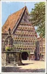 Künstler Ak Lindegreen, K., Hildesheim in Niedersachsen, Knochenhauer Amtshaus