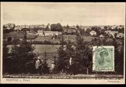Postcard Rédange sur Attert Luxemburg, Panorama der Ortschaft
