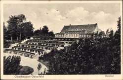 Postcard Oberhausen Osterfeld am Rhein, Partie am Waldhof, Parkanlage