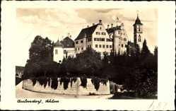 Postcard Aulendorf im Schussental Baden Württemberg, Blick auf das Schloss