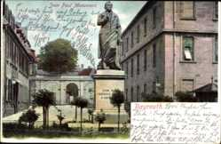 Postcard Bayreuth in Oberfranken, Das Jean Paul Monument