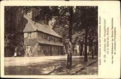 Postcard Bremen, Der Anbau der Ansgarikirche, A. Guthe